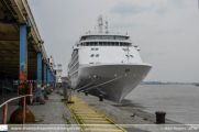 Silver Whisper in Antwerpen - ©Marc Peeters