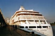Silver Whisper in Antwerpen - ©John Moussiaux